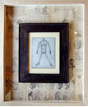 "Tiny Dancer 2003 collage 17 x 14"""