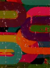 "Candy Girl 7 2007 acrylic on board 7 1/4 x 5 1/2"""