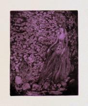 """Fall, 2010, drypoint with chine-colle, ed. 2/4, f.s. 16 1/2 x 12 3/4"""" / p.s. 15 x 11"""""""