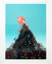 "Untitled, 2013, serigraph, ed. 49/50, f.s. 31 x 24"""