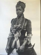 Bride Price, 2016, charcoal on paper, 50 x 38""