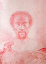 Cephas 2005 China marker on paper 22 x 16""