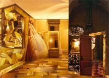 """La Visitazione 2008 Mixed media collage on panel 45 x 58"""""""