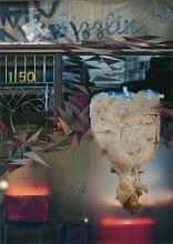 Sizzlin' 2008 handmade photo collage on panel 35 x 25