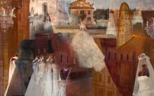 "Atelier Aimee 2006 C-prints and acrylic on panel 47 x 75"""