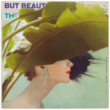 """But Beautiful, 2011, mixed media on vintage album cover, f.s. 18 x 18"""""""
