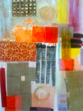 Untitled 2011 mixed media on paper 30 x 22""
