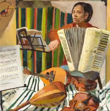 """Donde estas corazon 2005-2006 Oil on canvas 30 x 30"""""""