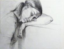 Dormida 2006 Graphite on Paper 14 x 17 in