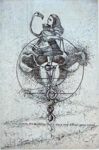 "Sex Education, USA, 2001, etching, 15 x 11"", ed. 9/12"