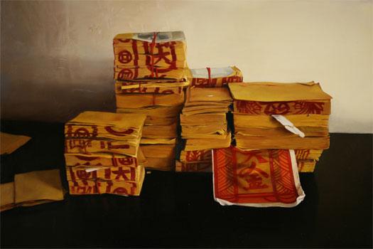 "Older 2007 oil on canvas 20 x 30"""