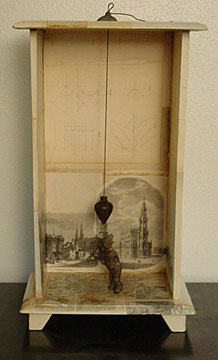 Jacob Limping From Penuel 2005 Assemblage 24 x 14 x 8""