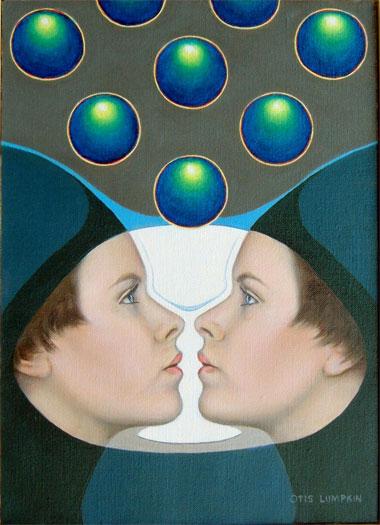 "Goblet 2006 Oil on canvas 14 x 10"""